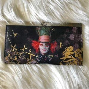Disney Johnny Depp Alice in Wonderland Wallet